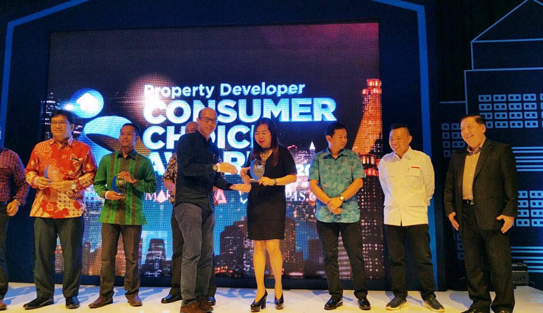 CitraLake Sawangan Raih Penghargaan Property Developer Consumer Choice Awards 2017 oleh Rumah123.com