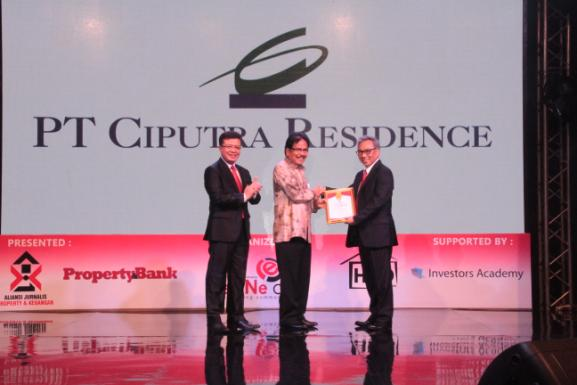 Indonesia Property & Bank Award 2016 Ciputra Group Raih Lima Penghargaan Bergengsi