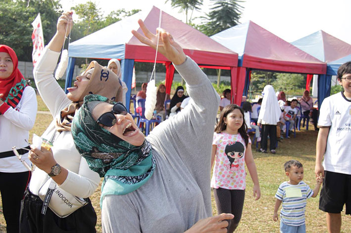 Semarak Pesta Kemerdekaan Indonesia Ke 73